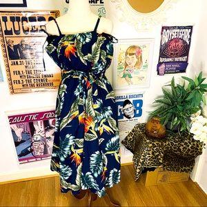 Louella De Ville Tropical Romper and skirt size L
